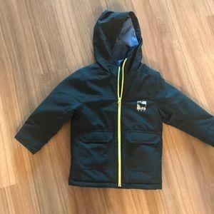 Abercrombie kids coat jacket size 3/4